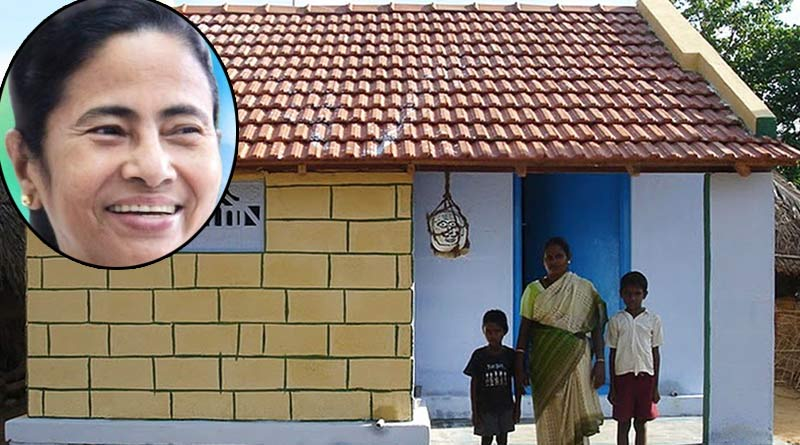 Banglar Bari: This housing project by Mamata Banerjee administration praised from the centre | Sangbad Pratidin