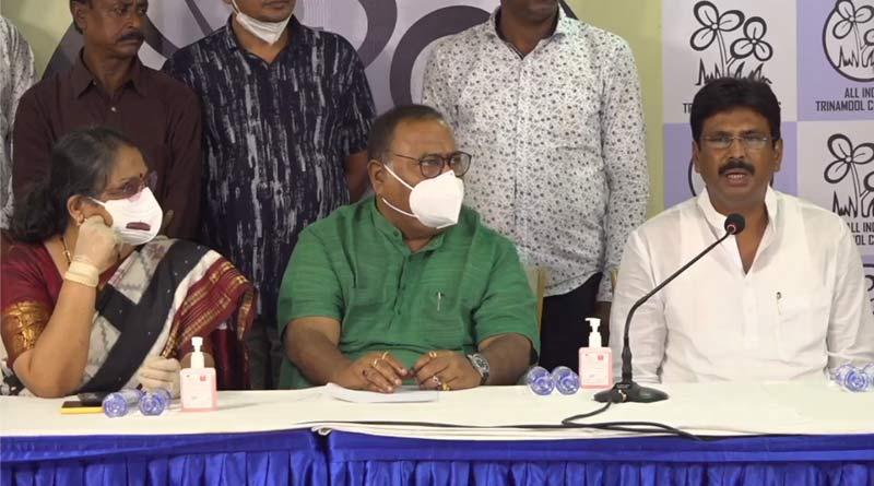 BJP MLA of Bagda, Biswajit Das joins TMC | Sangbad Pratidin