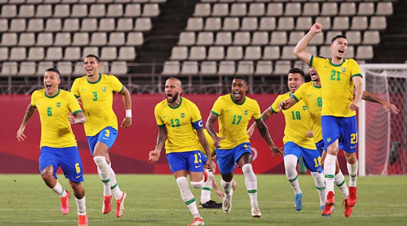 Brazil beats Spain and becomes Olympic champion in Tokyo | Sangbad Pratidin