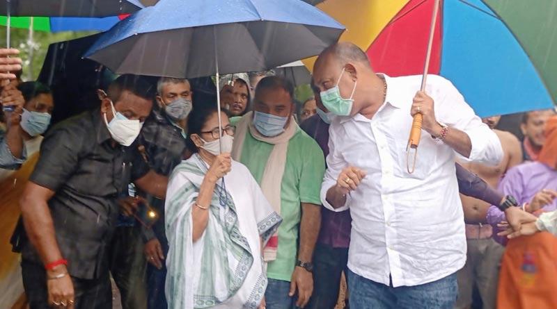 CM Mamata Banerjee visits Amta । Sangbad Pratidin