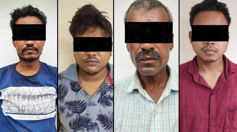 STF arrested two drug peddlers, seized drugs which has a market value of Rs 5 crore   Sangbad Pratidin