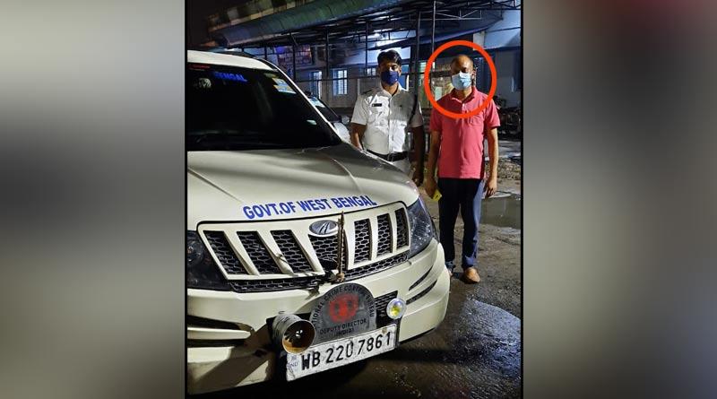 Fake national crime bureau officer arrested in Kolkata । Sangbad Pratidin
