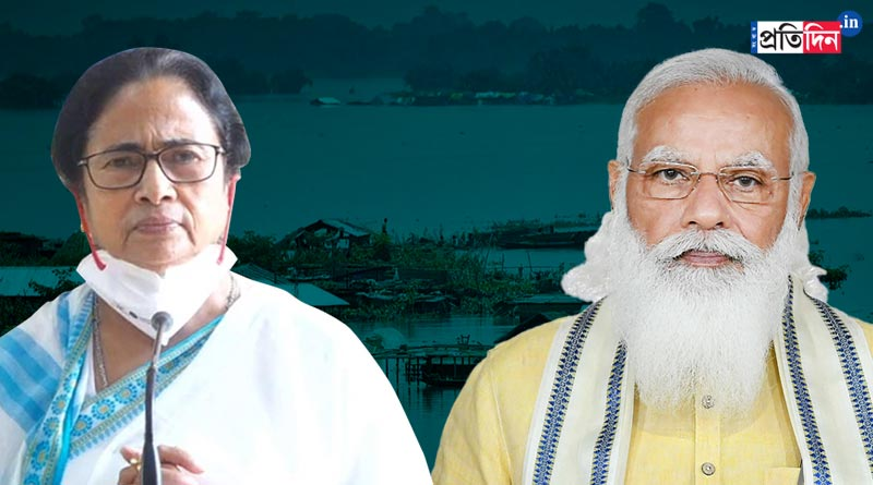 Discharge from dams caused flash flood in West Bengal district, says PMO | Sangbad Pratidin