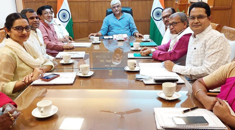 Ghatal master plan meet in Delhi, TMC skeptic about result   Sangbad Pratidin