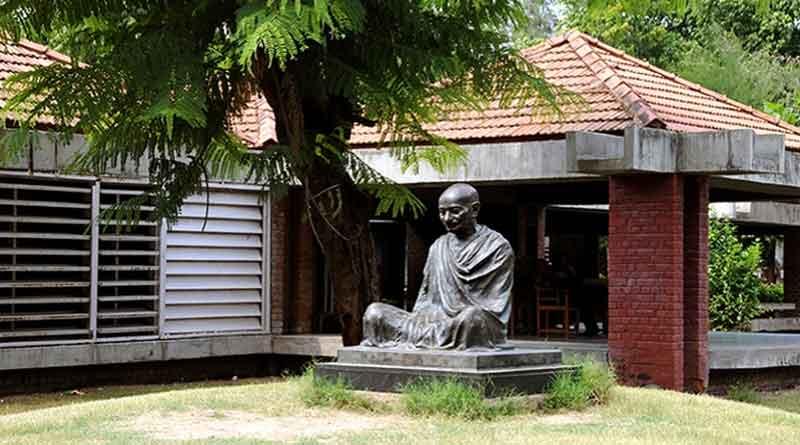 Gujarat govt's decision to construct museum by demolishing Sabarmati Ashram shocking sparks controversy   Sangbad Pratidin
