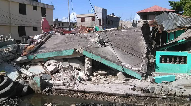 7.2 Magnitude Earthquake hits Haiti, Tsunami Alert Issued | Sangbad Pratidin