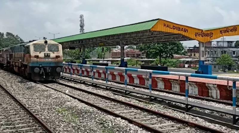 Goods train service starts from Haldibari to Chilahati, Bangladesh from August 1 after 56 years | Sangbad Pratidin