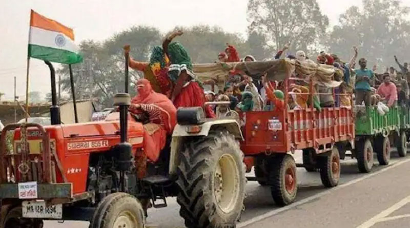 Haryana: 5,000 vehicles and 20,000 farmers to take part in 'tractor parade' on Independence Day | Sangbad Pratidin