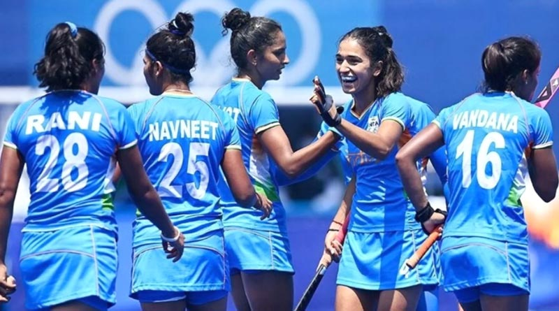 Indian Women's Hockey team Beats Australia to enter the last four at an Olympic Games for the first-time ever | Sangbad Pratidin