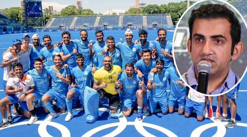 India's hockey bronze medal bigger than any Cricket World Cup, says Gautam Gambhir