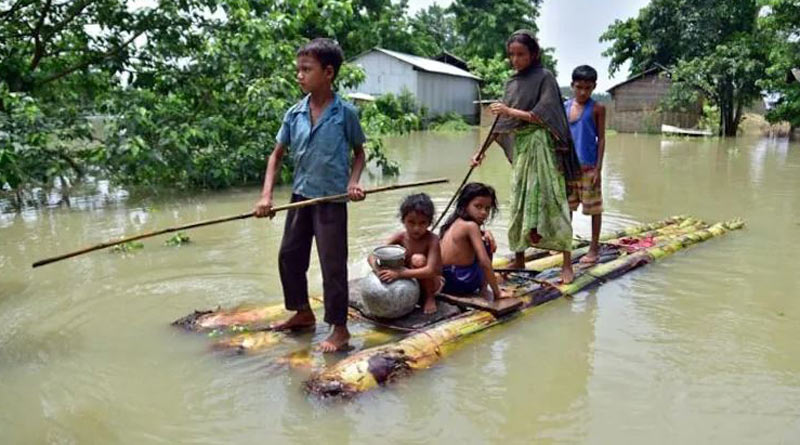 Children in India and 3 other South Asian nations at extremely high risk of climate crisis impacts, says UNICEF। Sangbad Pratidin