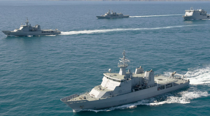 'Act East' policy: India sending warships to South China Sea | Sangbad Pratidin