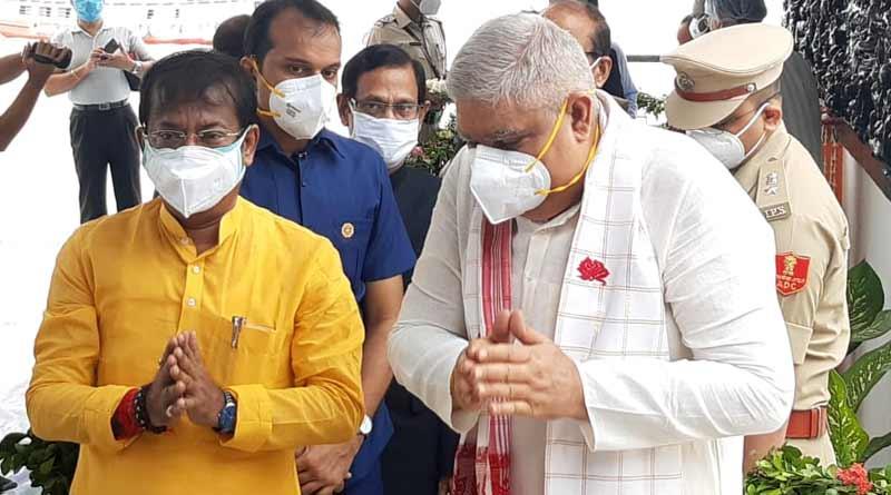 WB Guv Jagdeep Dhankhar again indirectly attacks Bengal government । Sangbad Pratidin