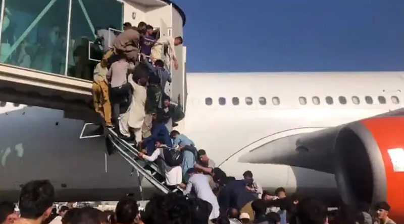 Taliban capture Afghanistan: Five dead in Kabul airport chaos