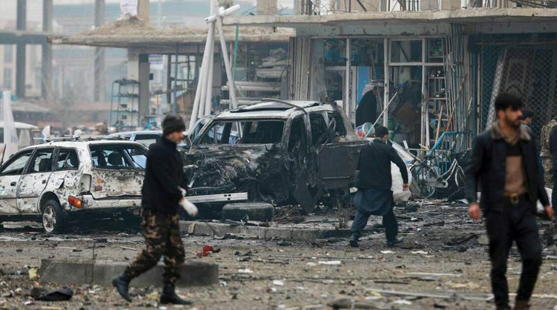 Blast heard near Kabul Airport after Taliban seals the area   Sangbad Pratidin