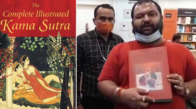 Members of Bajrang Dal have burnt a copy of the Kama Sutra in Gujarat's Ahmedabad   Sangbad Pratidin