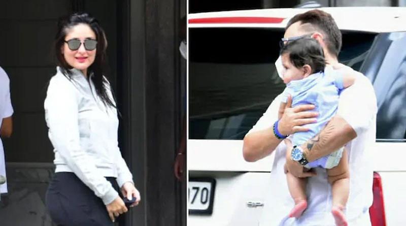 Video of Kareena Kapoor Khans second child goes viral | Sangbad Pratidin