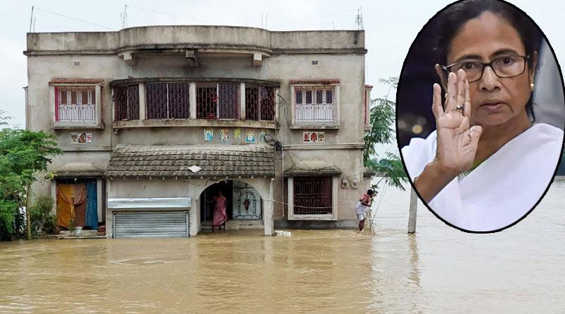 Flood situation in Bengal: CM Mamata Banerjee will visit Khanakul, Hooghly on Wednesday | Sangbad Pratidin