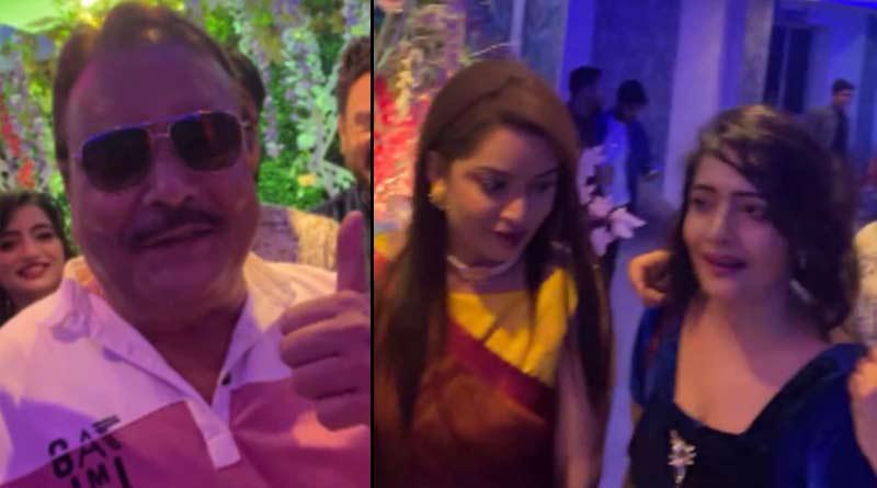 BJP leader Rimjhim Mitra on Facebook Live with Madan Mitra, controversy started   Sangbad Pratidin