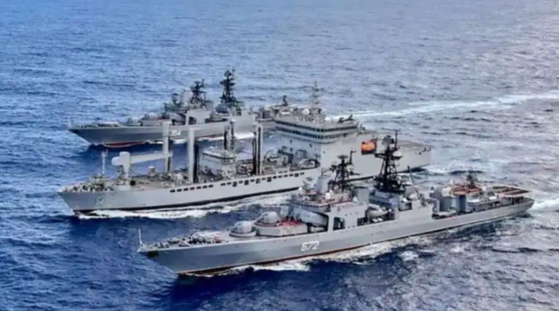 India participated in Naval Exercise Malabar 21 with Quad nations from 26 august | Sangbad Pratidin