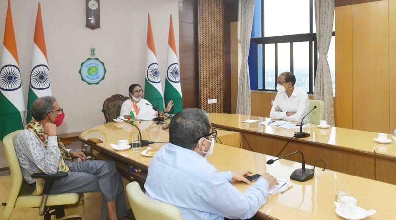 National flag at CM Mamata Banerjee's room Nabanna, unusual picture sparks new row | Sangbad Pratidin