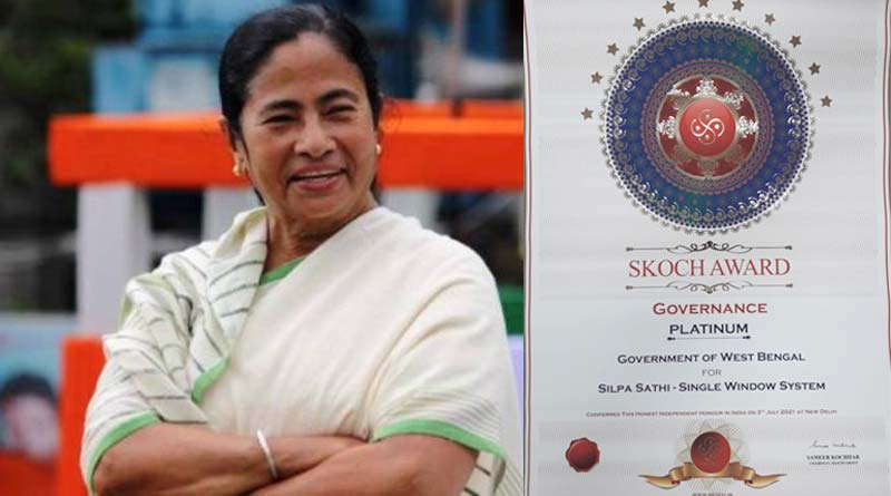 West Bengal gets four SKOCH Award | Sangbad Pratidin