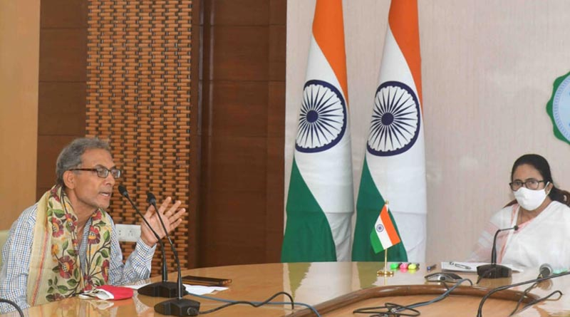 Coronavirus: Nobel laureate Abhijit Vinayak Banerjee comes to Bengal keeping request of CM Mamata Banerjee to attend meeting | Sangbad Pratidin