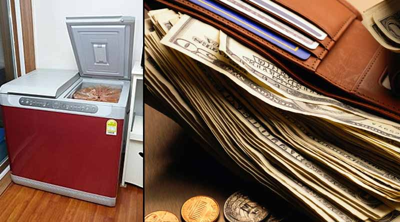 Man buys used refrigerator and finds cash 96 lakh rupees in South Korea । Sangbad Pratidin