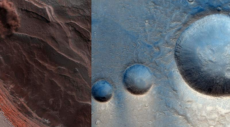 Landslide in Mars: European orbiter captures surface movement on Red Planet | Sangbad Pratidin