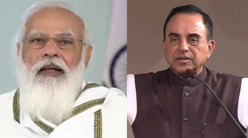 BJP's Subramanian Swamy says 'Modi is not King of India'। Sangbad Pratidin