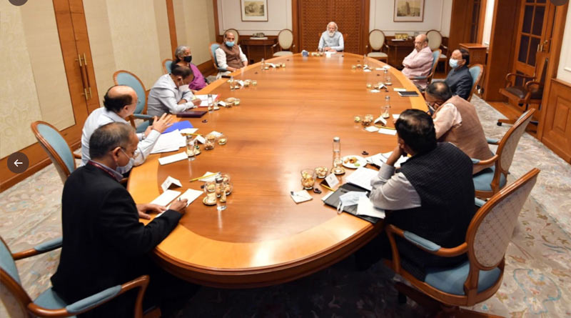 Afghnaistan Crisis: PM Modi is in emergency meeting with NSA Ajit Doval and top ministers in his residence | Sangbad Pratidin