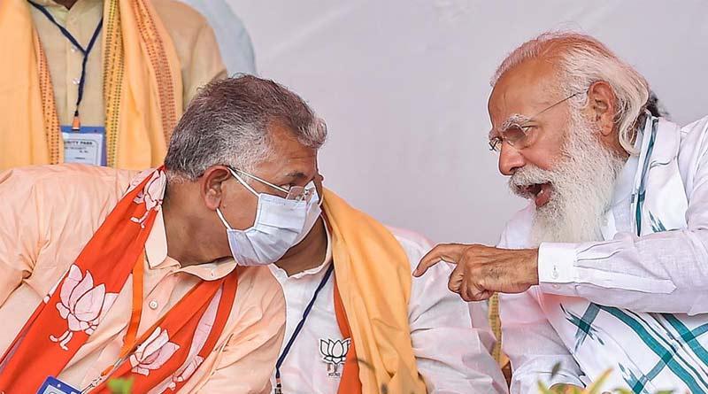 Narendra Modi sent a letter to Dilip Ghosh in Bengali on his birthday | Sangbad Pratidin