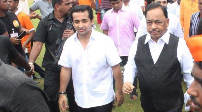 Central minister Narayan Rane's Son Nitesh Shares Clip From