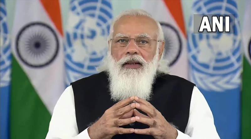 Prime Minister Narendra Modi chairs the UNSC High-Level Open Debate   Sangbad Pratidin