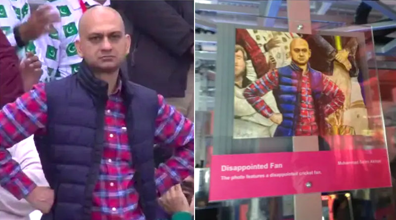 Viral disappointed Pakistani fan featured in Hong Kong Museum | Sangbad Pratidin