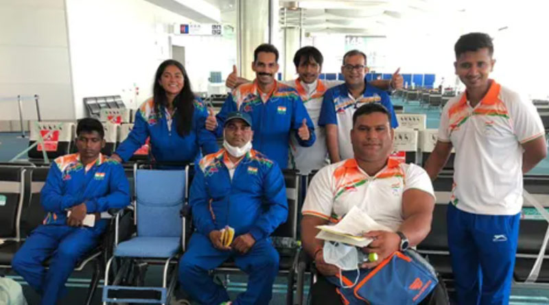 6 members of Indian paralympics team to miss opening ceremony after coming in close contact of Covid+ person | Sangbad Pratidin