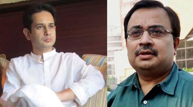 TMC spokesperson Kunal Ghosh meets Tripura royal Padyut Manikya Debbarma | Sangbad Pratidin