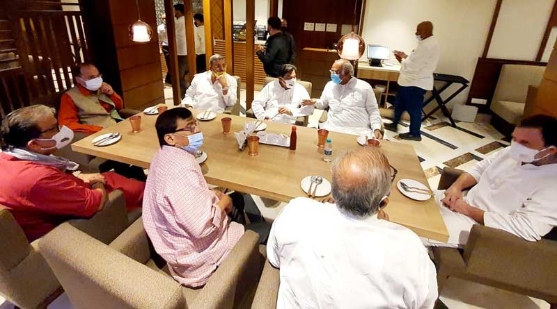 Opposition Meeting at Delhi: TMC and other parties join 'breakfast meeting' called by Rahul Gandhi | Sangbad Pratidin