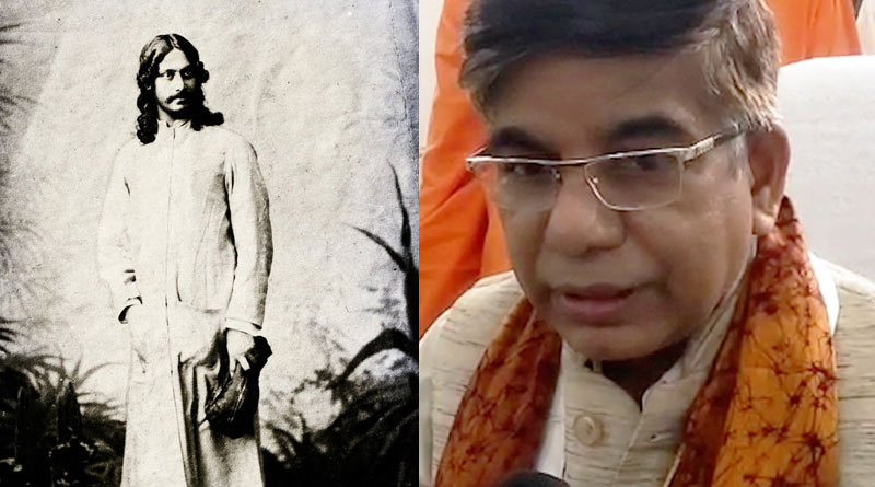 Central minister Subhas Sarkar makes new controversy by commenting on Rabindranath Tagore's complexion | Sangbad Pratidin