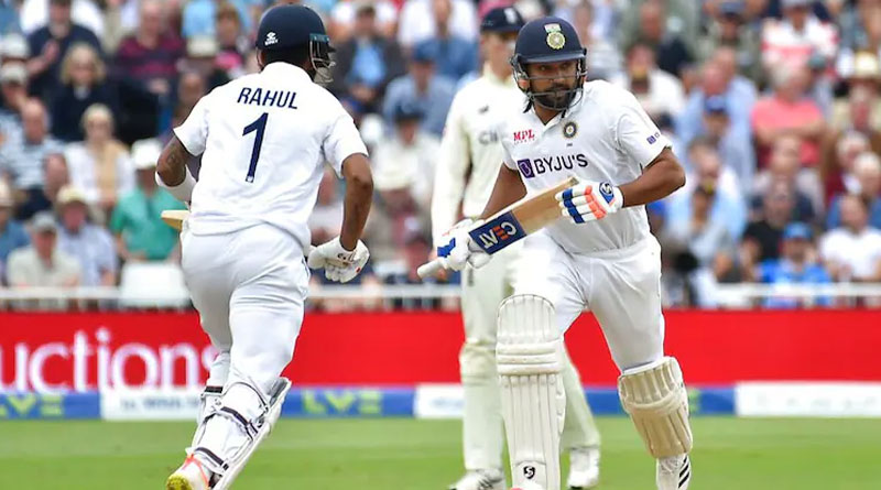 Lord's Test: Rohit Sharma and KL Rahul puts India in Good Position | Sangbad Pratidin