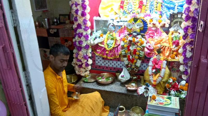 Janmashtami celebrated in Raiganj's Ghoshal family for last four hundred years | Sangbad Pratidin