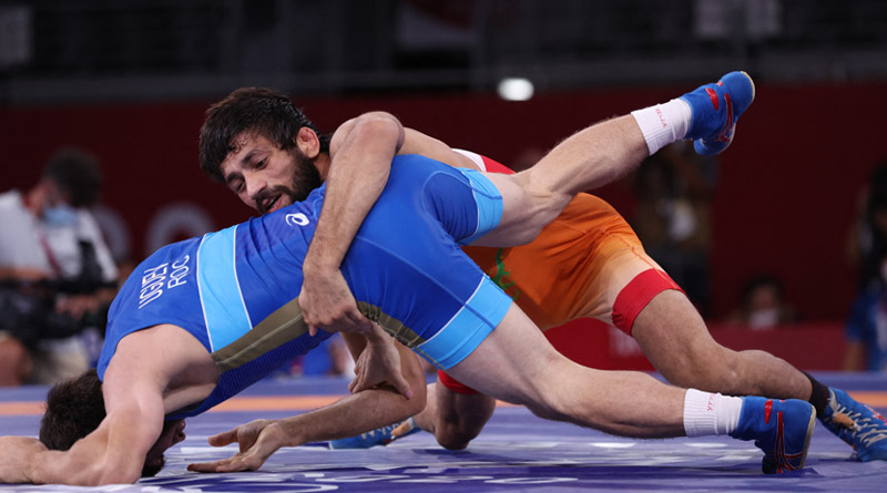 Tokyo Olympics: India's Ravi Kumar Dahiya loses and wins silver medal | Sangbad Pratidin