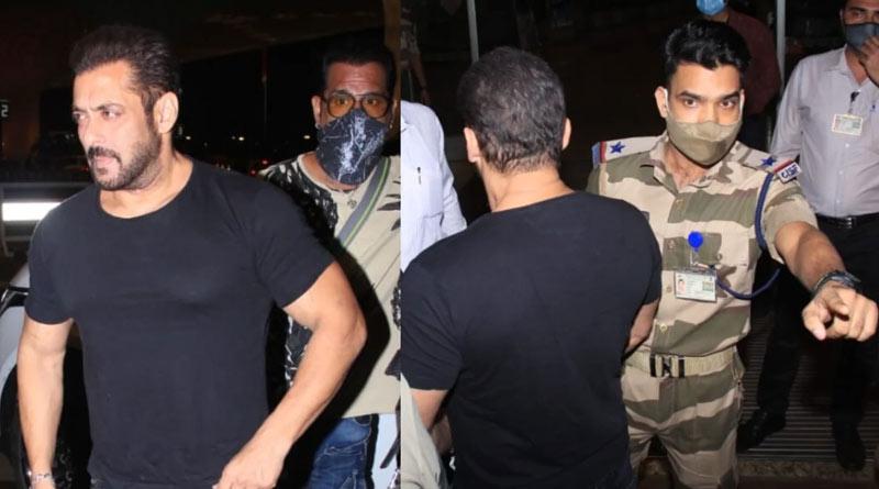 CISF guard who stopped Salman Khan has been rewarded   Sangbad Pratidin