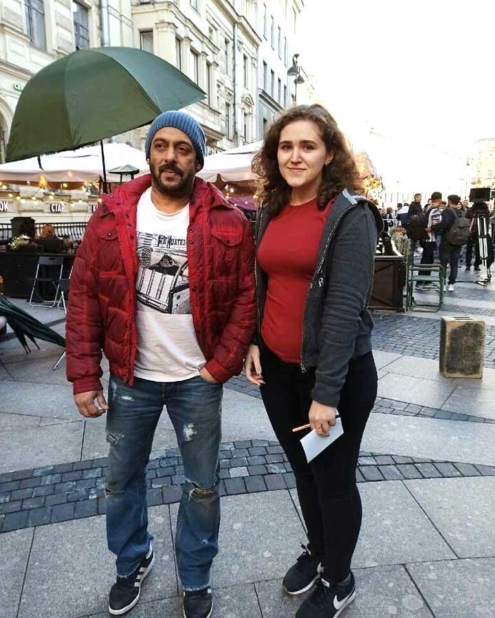 Salman Khan in Tiger 3 shoot