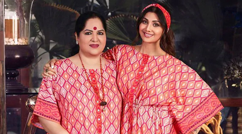 Bollywood Actress Shilpa Shetty Kundra and her mother booked for defrauding two people of crores of rupees in UP   Sangbad Pratidin