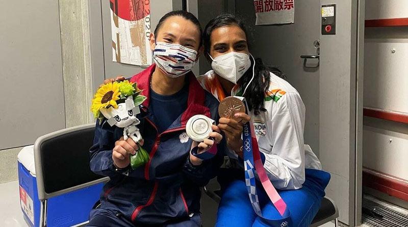 Tokyo Olympics 2020: PV Sindhu's encouragement left me in tears, said Tai Tzu-ying | Sangbad Pratidin
