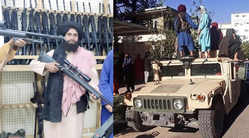Taliban captures arms used by US in Afghanistan | Sangbad Pratidin