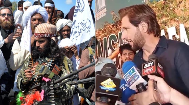 Former Pakistan cricketer Shahid Afridi backs Taliban, says it came with positive mindset | Sangbad Pratidin