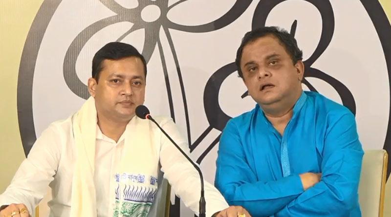 Bishnupur BJP MLA Tanmay Ghosh joins TMC | Sangbad Pratidin