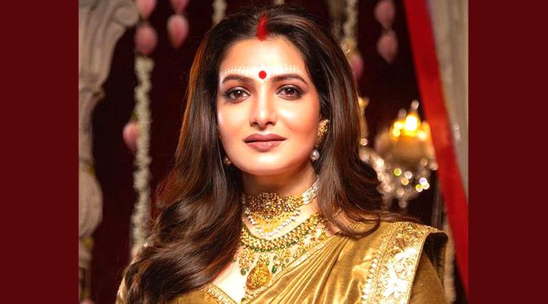 Tanusree Chakraborty posted picture as bride | Sangbad Pratidin